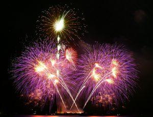 Bild eines Feuerwerks